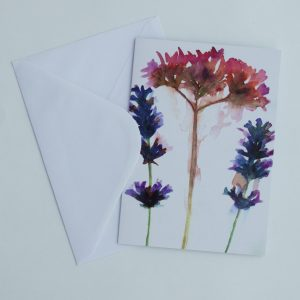 Verbena Bonariensis Greeting Card from The Creativity Box
