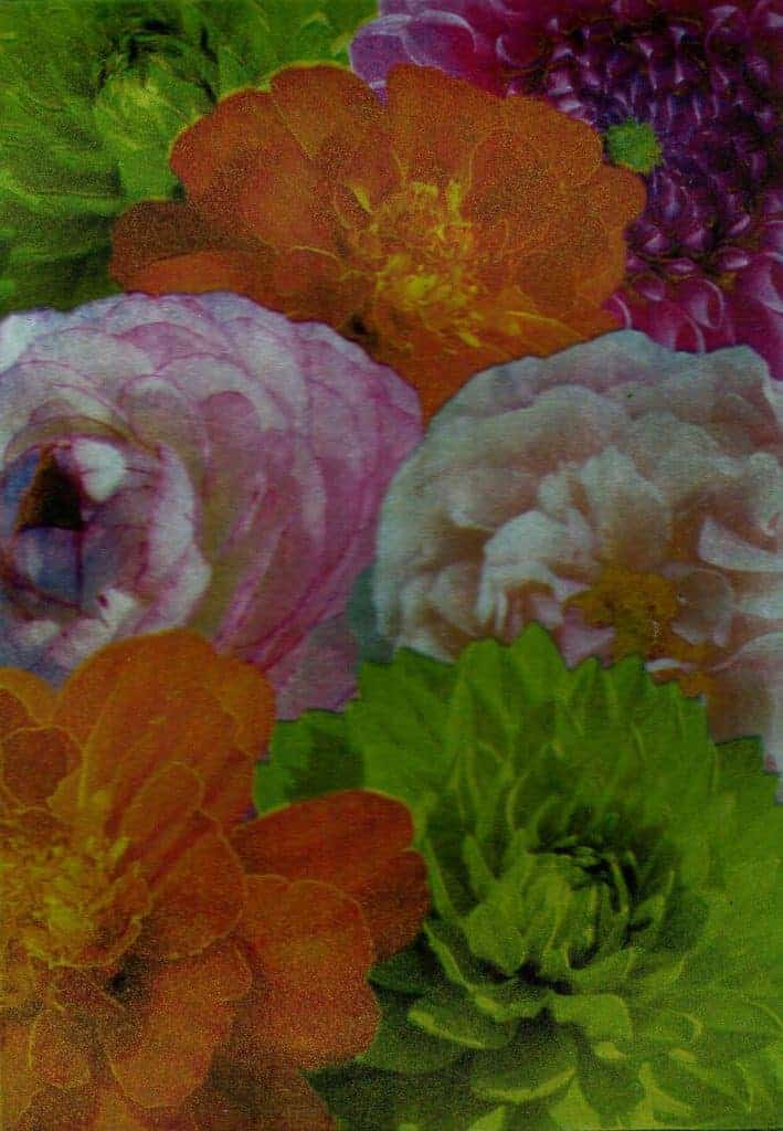 Summer Flowers Photopolymer Etching